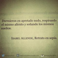 Twitter @viejacultura Isabel Allende