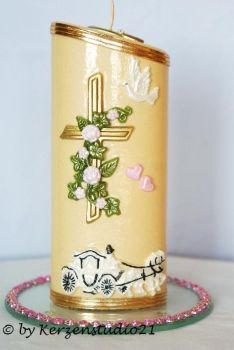 KerzenStudio21.de - Geschenk Kerze Hochzeit