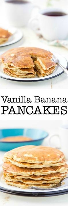 This Vanilla Banana Pancake recipe adds a special touch to a classic brunch delight. Check out the simple step by step recipe!