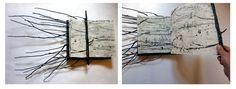 Ratko Krsanin -  réalisation d'un livre-objet à l'issue de la résidence des Côtes d'Armor - juin 2011