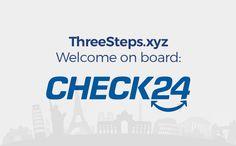 Mit CHECK24[nbsp]gibt es jetzt bei ThreeSteps ein neues Reise-Preisvergleichs-Portal. Freut Euch auf transparenten Preisvergleich der marktführenden Reiseportale. Praktisch und schnell, alles auf einen Blick. Das bringt viele neue Cashback Möglichkeiten bei Deiner Reisebuchung. // Travel Hacks, Travel Tips, Welcome On Board, Car Rental, Tricks, Travel Advice