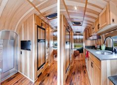Stunning Restored 1954 Airstream Flying Cloud Travel Trailer | HomeDSGN, a daily source for inspiration and fresh ideas on interior design and home decoration.