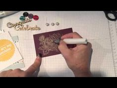 Stampin' UP! Wink of Stella tips Part I - YouTube