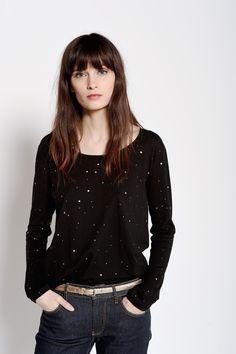 Tee-shirt Soupir Noir - T-shirts manches courtes - categories - e-shop
