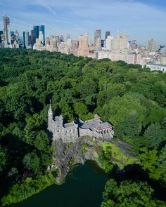 Belvedere Castle in Central Park by Pavel Bendov @imxplorer by newyorkcityfeelings.com - The Best Photos and Videos of New York City including the Statue of Liberty Brooklyn Bridge Central Park Empire State Building Chrysler Building and other popular New York places and attractions.