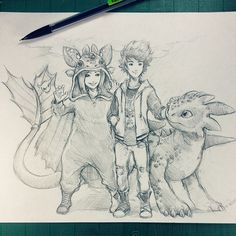 Artist: Itsbirdy | How To Train Your Dragon