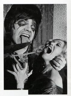 Screaming Lord Sutch as Jack the Ripper. From the book The Man Who Was Screaming Lord Sutch by Graham Sharpe.