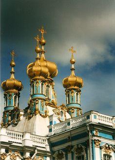 The Church of Resurrection,Tsarskoye Selo, St Petersburg, Russia