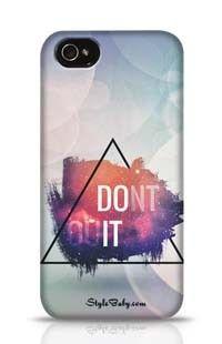 Do It Apple iPhone 4 Phone Case