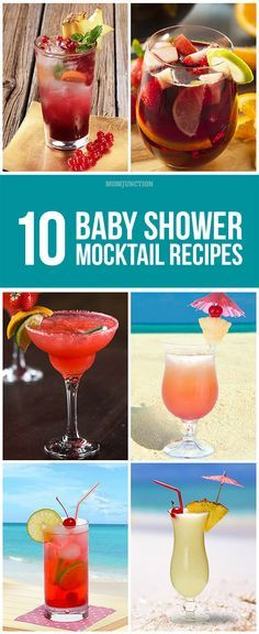 Baby Shower Mocktails: Have you planned the menu but detest the idea of serving colas? Are you worried that not serving regular cocktails could be boring for your friends who enjoy their drink?If you can relate to the above situations check out this post to find ten interesting mocktail recipes that can help you say cheers - alcohol or not!