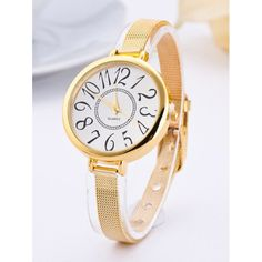 Big Circle Dial Plate Quartz Watch #>=#>=#>=#>=#> Click on the pin to check out discount price, color, size, shipping, etc. Save and like it!