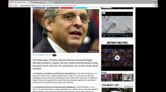 Immigration Instance of Obama Supreme Court Nominee: Judge Garland!