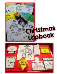 Your students will love creating this Christmas or holiday lapbook; lots of templates for the holiday season. Perfect for any elementary level classroom; $