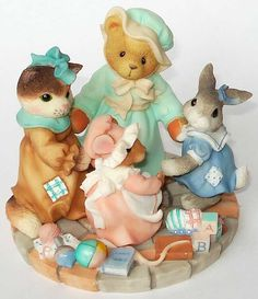 """""""Circle Of Love"""" 4th In Series (#1 Cherished Teddies) (#2 Calico Kittens)  (#3 Blushing Bunnies)  (#4 Mouse Tales)"""