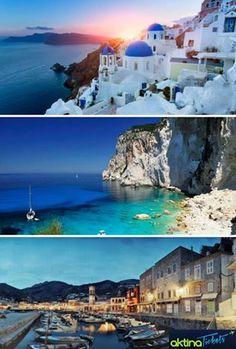 Όλα τα νησιά μας είναι υπέροχα!!! Εσένα ποιο είναι το αγαπημένο σου?? Κρατήσεις ☛ www.aktinatickets.gr