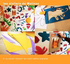 Les ateliers de Matisse au Luki-Atelier  http://www.luki-atelier.fr