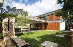 Hunters Hill Home Created in Reference to the Clients' Italian and Sri-Lankan Heritage
