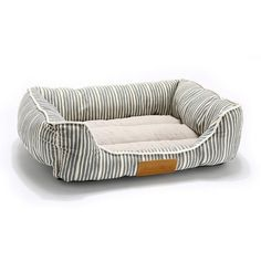 Orthopedic Dog Bed On Sale - Orthopedic Dog Bed On Sale, Square Blue Strip / Medium - Dog Sofa Bed, Diy Dog Bed, Dog Pillow Bed, Rustic Dog Beds, Pallet Dog Beds, Raised Dog Beds, Puppy Beds, Pet Beds, Puppy Room