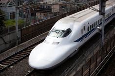 Bullet Train, Tokyo, Japan. Been a couple of times. Love Japan.