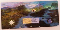 Flooded Strand 3 Card Panorama MTG Magic Altered Art Custom Painted Hot OOAK OOP #WizardsoftheCoast