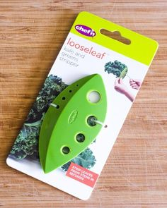 Strip Your Kale Naked with the Chef'n Looseleaf Kale & Greens Stripper — Product Review