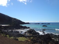 Isla de Pascua . Playa Ovahe
