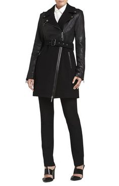 BLACK Black Coats - Johnna Long Moto Jacket