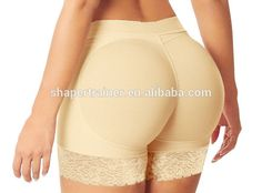 2bfd85f8e30 whole sale and detail women padded butt lifters.. sponge padded underwear  panties Moda Fashion