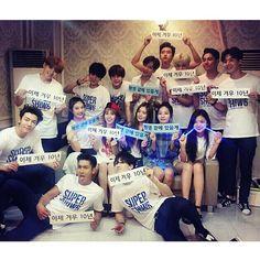 SJ and Red Velvet