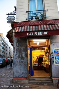 A welcoming Boulangerie (bakery) in Paris.