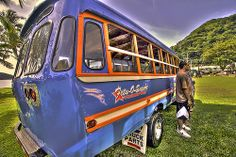 Samoan bus.
