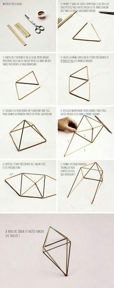 Geometric geode gold bars