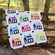 Lily's Quilts: The Oakshott Schoolhouse Quilt