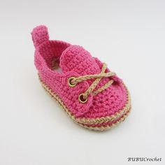 Del ganchillo zapatos de bebé zapatos de bebé zapatos por Yunisiya
