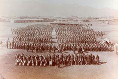 Regimiento Santiago 5º de línea estaba comandado por el teniente-coronel, Pedro Lagos. En el mando lo sucedían el teniente-coronel Francisco Barceló; y el sargento mayor, Estanislao León