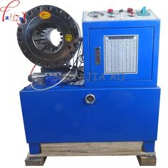 """Universe of goods - Buy """"High quality hydraulic hose crimping machine 14 to system pressure rated Max. pressure ship by sea"""" for only 1700 USD. T Max, Safe Shop, Shipping Packaging, Crimping, Cool Things To Buy, Stuff To Buy, Cool Names, Diy Organization, Natural Disasters"""