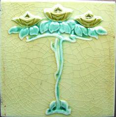 This site has an Amazing collection of Art Nouveau tiles!! >>> http://www.westsidearttiles.com/ArtNouveau_tiles.htm
