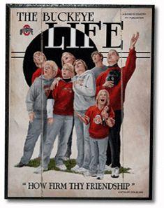 Buckeye Life ohio state artwork