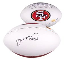 Joe Montana Signed Logo Football #SportsMemorabilia #SanFransico49ers