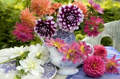 """These multi-petaled beauties make a big impact in a vase. They'll look their best when you give them a hydrating """"bath"""" before arranging. Simply remove any foliage, then submerge the stems in cool water overnight.   - CountryLiving.com"""