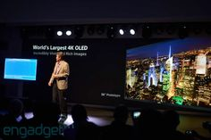 Sony announces the world's first 4K OLED TV at CES: 3,840 x 2,160 resolution, no price or release in sight