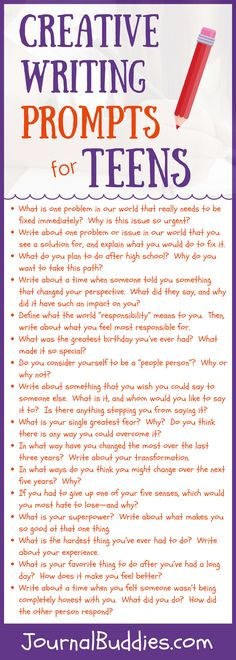 Use these creative writing prompts to help your kids clarify their thoughts and emotions and develop stronger self-identities.