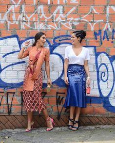 """Since 2008! Amizade de longa data, né @blogdamariah ❤️ Fashion Week Moments #SPFW  @renatomilani"""