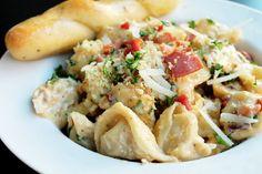 Olive Garden Parmesan Crusted Prosciutto Tortellini Copycat