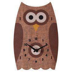 Owl Cloc