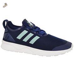 85d876cec354 Adidas ZX Flux Women s Shoes Carbon Black Semi Flash Orange b34010 (11 B(M)  US) - Adidas sneakers for women ( Amazon Partn…