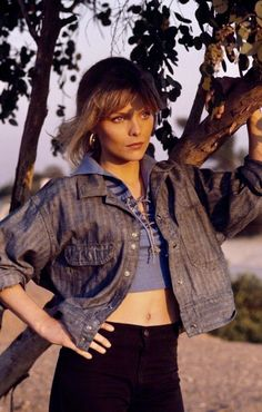 Michelle Pfeiffer in the movie Grease 2 Grease 2, Michelle Pfeiffer, Anime Neko, Golden Globe Award, American Actress, Actresses, Face, Movies, Fashion