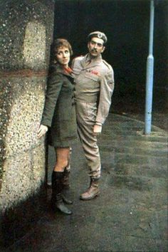 Liz & the Brigadier Doctor Who by The Curse Of Fatal Jeff. Amazing person who makes fantastic pins, picture perfect Doctor Who Season 7, Doctor Who Tv, 4th Doctor, John Benton, Original Doctor Who, Sarah Jane Smith, Sylvester Mccoy, Doctor Who Cosplay, Jon Pertwee