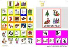 Libro con pictogramas sobre la Navidad (en formato pdf).