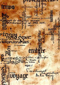 """Thème """"Voyage & Temps"""". Calligraphies à la plume, encre Perle Noire."""